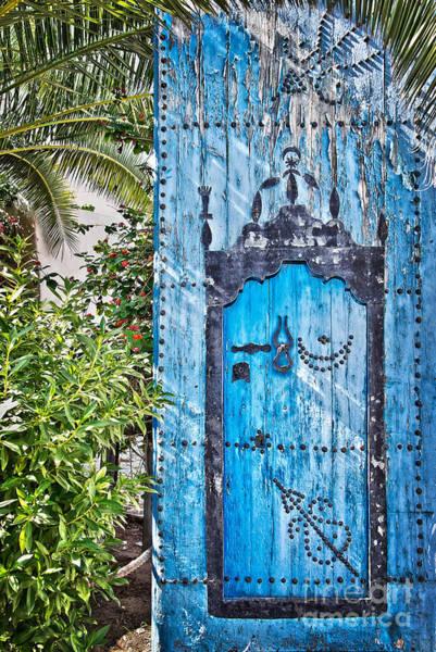 Old Door Photograph - Oriental Garden by Delphimages Photo Creations