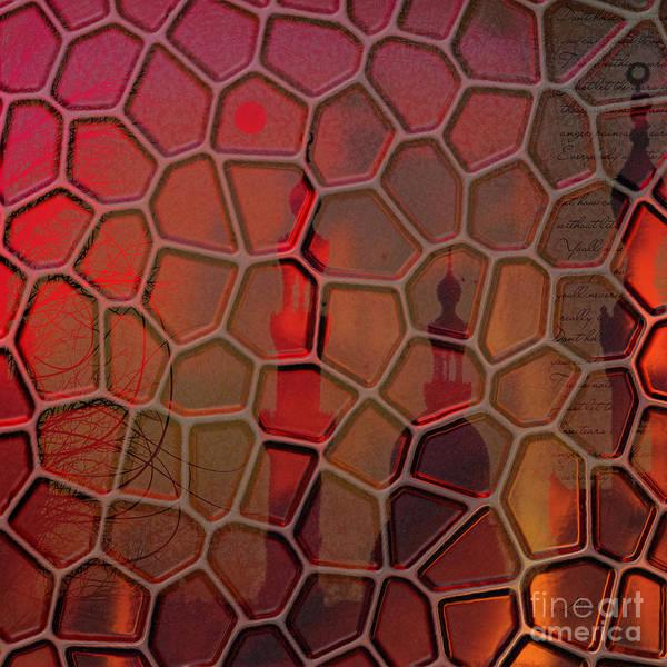 Mosque Digital Art - Oriental Haze by Mo T