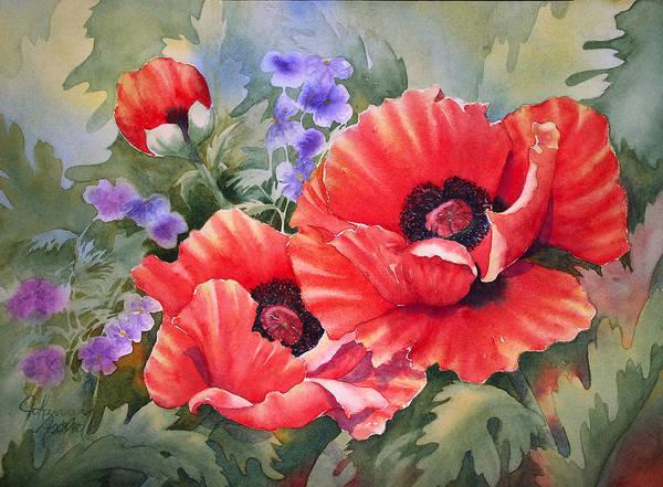 Painting - Oriental Poppy by Johanna Axelrod