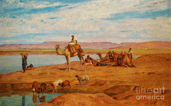 Painting - Orientalist Paintings by Leopold Alphons Mielich