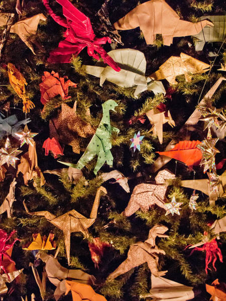 Photograph - Origami Ornaments by Spencer Grant