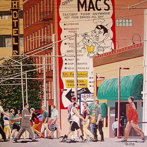 Wall Art - Painting - Original Macs Number 2 by Paul Guyer