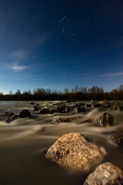 Moonscape Photograph - Orion by Davorin Mance