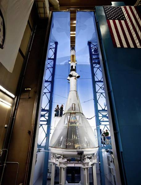 Module Wall Art - Photograph - Orion Launch Abort System Testing by Lockheed Martin/nasa/science Photo Library