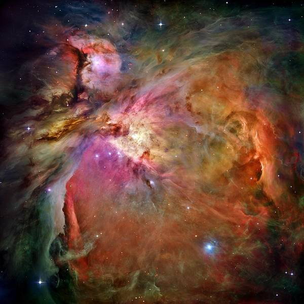 Wall Art - Photograph - Orion Nebula by Benjamin Yeager
