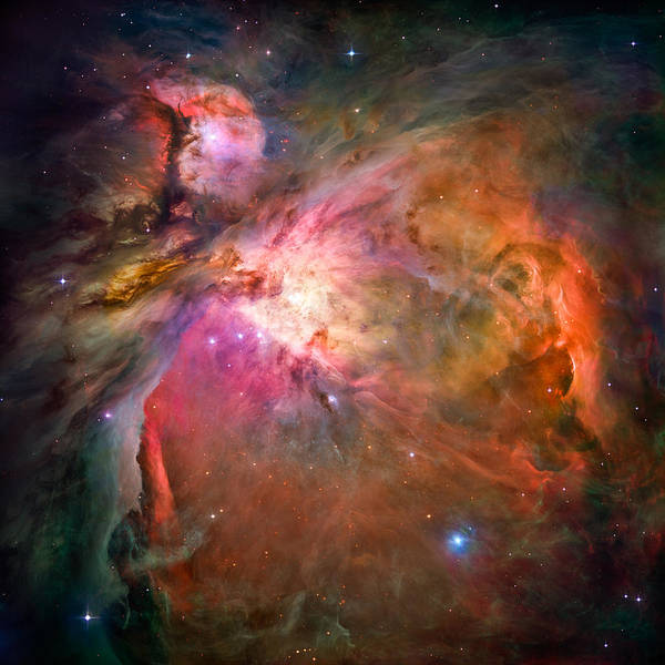 Infrared Radiation Photograph - Orion Nebula by Marco Oliveira