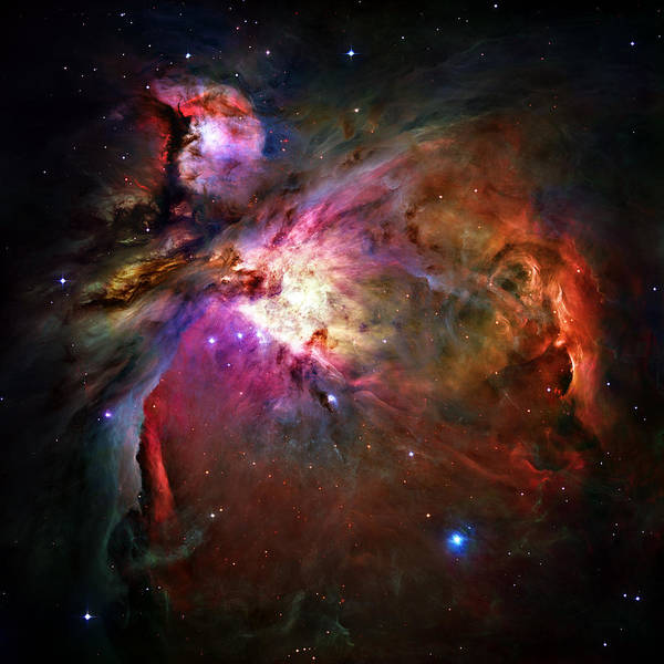 Gas Photograph - Orion Nebula by Ricky Barnard