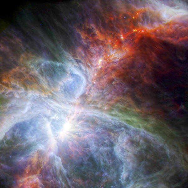 Wall Art - Photograph - Orion's Rainbow Of Infrared Light by Adam Romanowicz