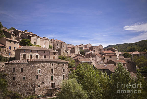 Photograph - Olargues South France by Maria Heyens