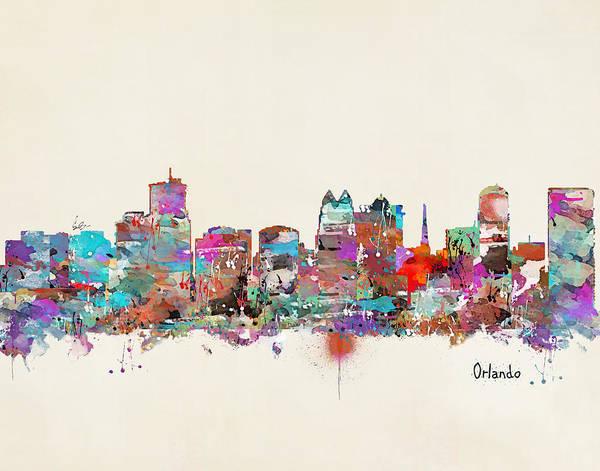 Florida Painting - Orlando Florida by Bri Buckley