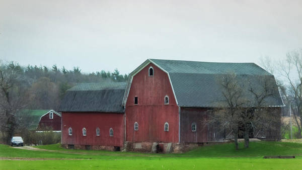 Photograph - Orleans County Barn  7k00977 by Guy Whiteley