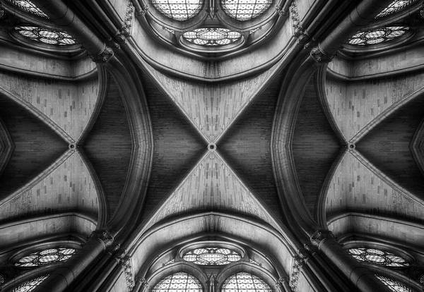 Ceiling Photograph - Ornament by Oussama Mazouz