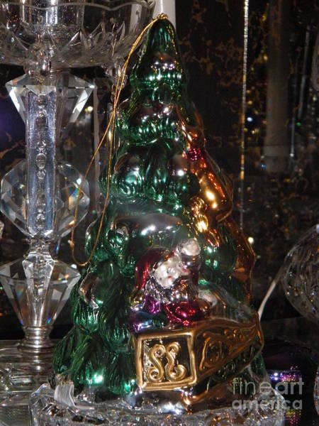 Photograph - Ornament Tree by Ronda Douglas