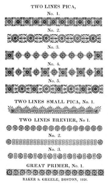 Painting - Ornamental Borders, 1826 by Granger