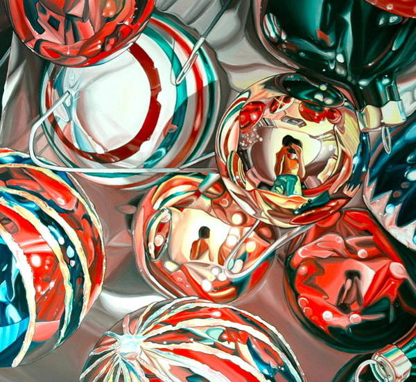 Ornaments Painting - Ornaments by Anthony Mezza