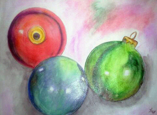 Painting - Ornaments by Loretta Nash