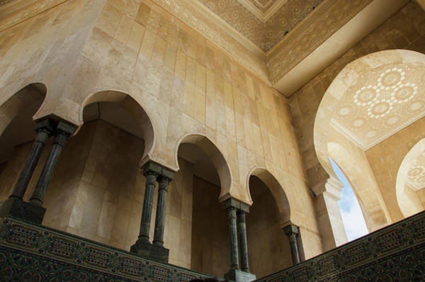 Design Photograph - Ornate Facade On Walls With Arches And by Diane Levit / Design Pics