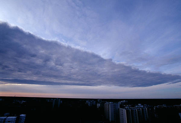 Finnish Photograph - Orographic Cloud by Pekka Parviainen/science Photo Library