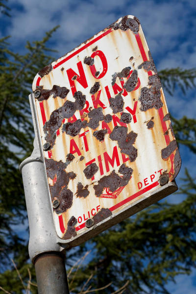 Photograph - Oroville Sign 2011 by James Warren