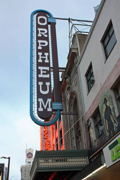 Photograph - Orpheum Theatre by Gerry Bates