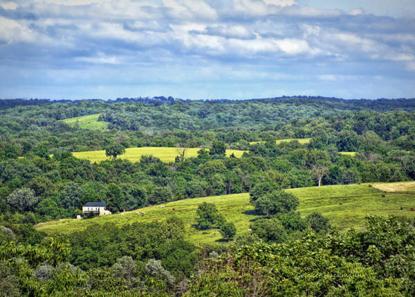 Photograph - Osage County Lookout by Cricket Hackmann