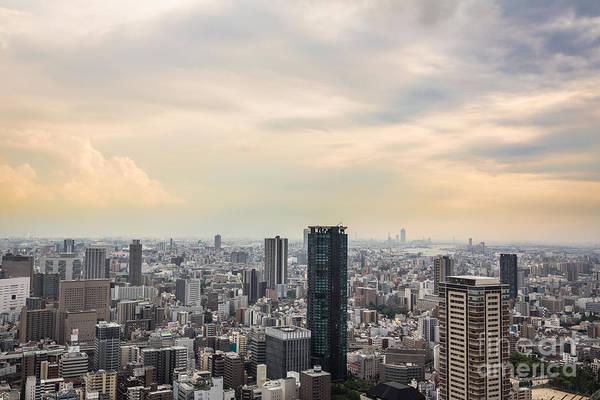 Photograph - Osaka Sunset by Didier Marti
