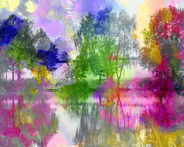 Painting - Osbourne's Pond by Tracy-Ann Marrison