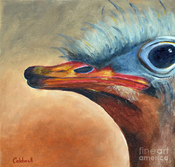 Wall Art - Painting - Oscar by Patricia Caldwell