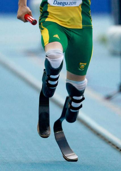 Blade Runner Photograph - Oscar Pistorius, South African Athlete by Science Photo Library