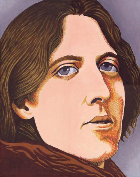 Windermere Painting - Oscar Wilde by Martin Keaney