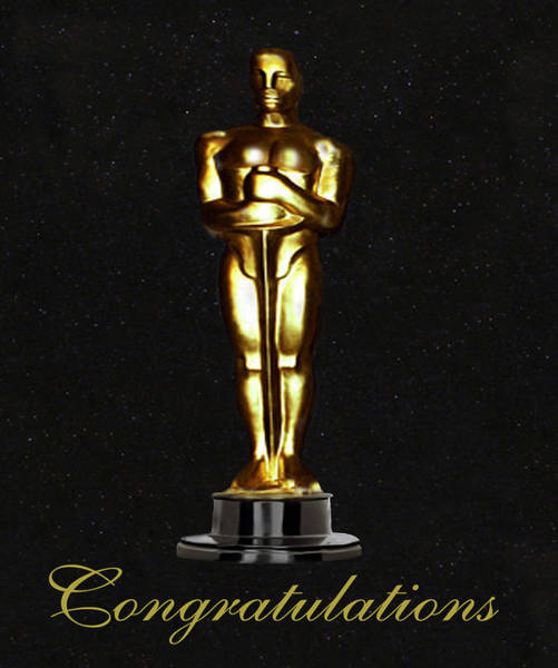 Photograph - Oscars Congratulations by Eric Kempson