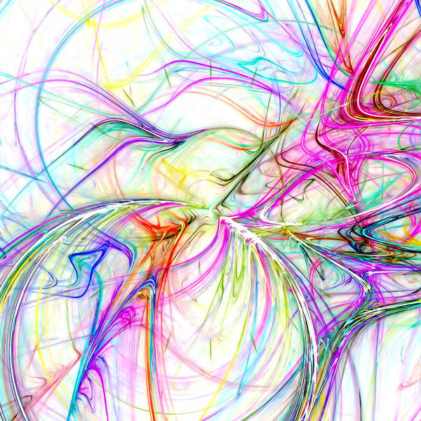 Vibrations Digital Art - Oscillation by Tom Druin