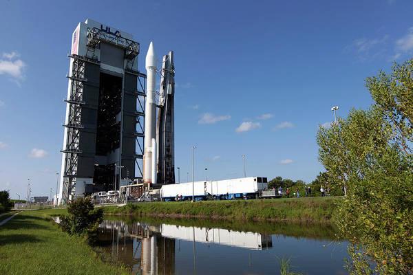 Rex Photograph - Osiris-rex Launch Preparations by Nasa/kim Shiflett/united Launch Alliance/science Photo Library