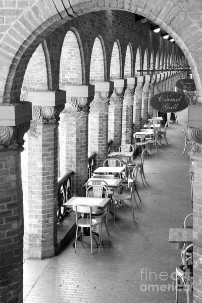 Wall Art - Photograph - Oslo Cafe - Black And White by Carol Groenen