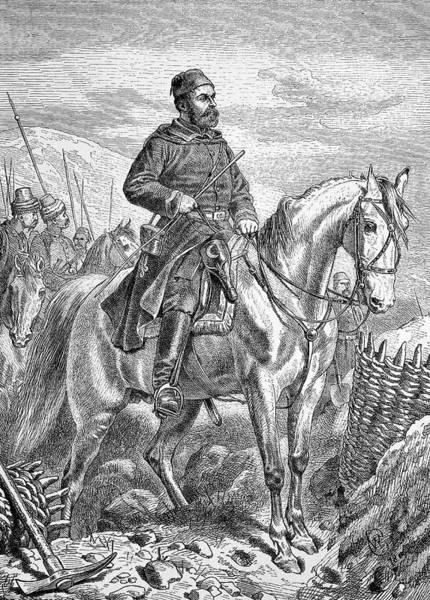 Siege Photograph - Osman Nuri Pasha by Bildagentur-online/tschanz