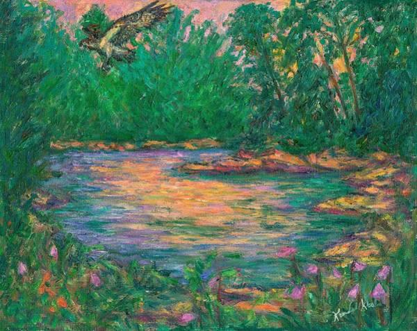 Painting - Osprey Evening by Kendall Kessler