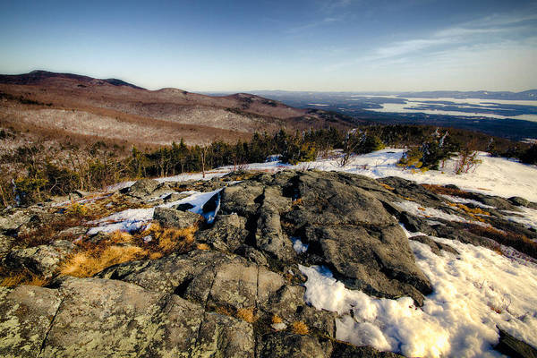 Photograph - Ossipee Range by Robert Clifford