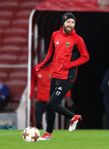 Ostersunds Fk Training Session And Press Conference - Emirates Stadium Art Print by Adam Davy - PA Images