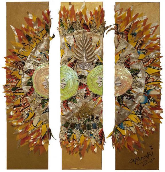 Tapestry - Textile - Osun Sun by Apanaki Temitayo M