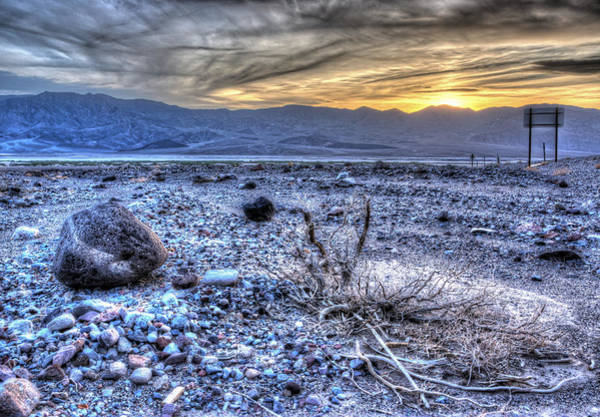 Desolation Photograph - Other Worldly by Heidi Smith