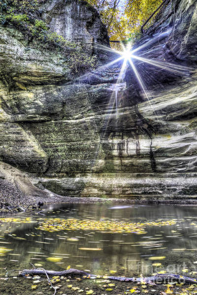 Starving Photograph - Ottawa Canyon At Starved Rock by Twenty Two North Photography
