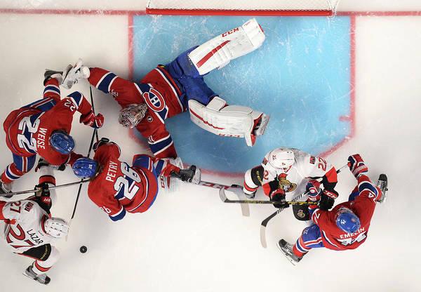 Montreal Photograph - Ottawa Senators  V Montreal Canadiens by Francois Lacasse