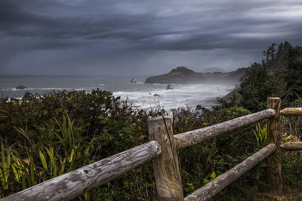 Photograph - Otter Point by Debra and Dave Vanderlaan