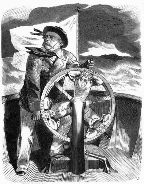 Wall Art - Drawing - Otto Bismarck  Portrayed As A Sailor by Mary Evans Picture Library