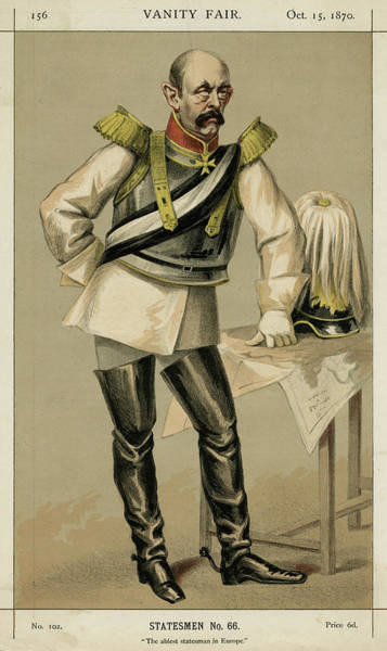 Wall Art - Drawing - Otto Eduard Leopold Bismarck (1815 - by Mary Evans Picture Library