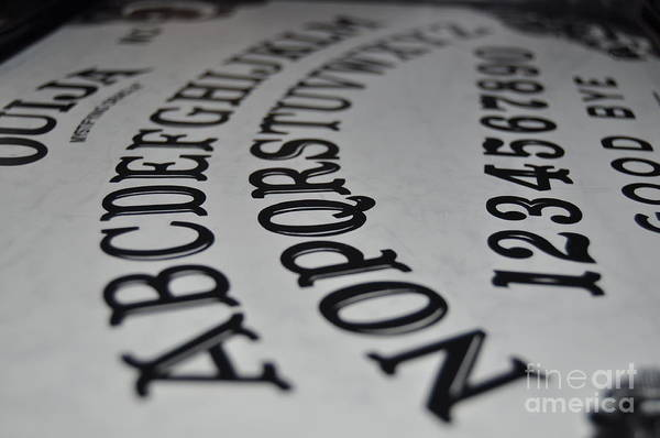 Photograph - Ouija Board by Staci Bigelow