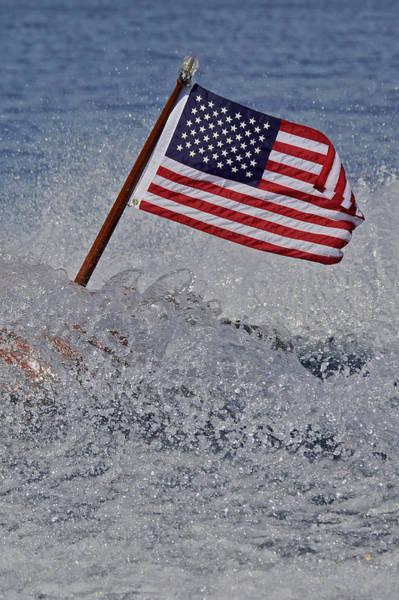 Photograph - Our Flag by Steven Lapkin