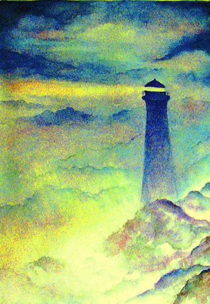 Wall Art - Painting - Our Guiding Light by Hazel Holland