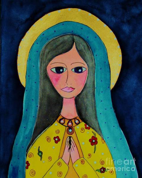 Painting - Our Lady by Melinda Etzold