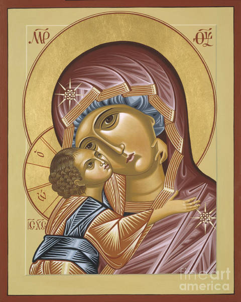Painting - Our Lady Of Grace Vladimir 002 by William Hart McNichols